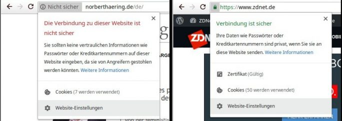 Browser stummschalten: Chrome (Screenshot: ZDNet.de)