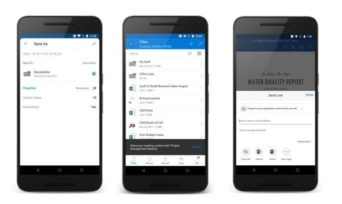 OneDrive-Scan-Funktion-Sharing-Meeting-Word-Sharing (Bild: Microsoft)