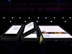SDC18: Samsung zeigt faltbares Smartphone/Tablet (Bild: Samsung)