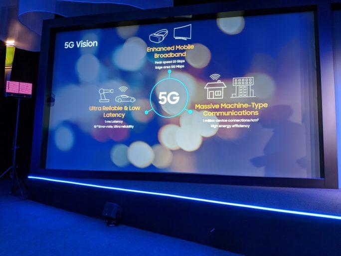Samsung investiert in den nächsten drei Jahren 22 Milliarden Dollar in 5G, AI und IoT (Bild: ZDNet.de)