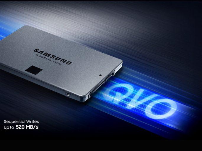 Samsung SSD 860 QVO (Bild: Samsung)