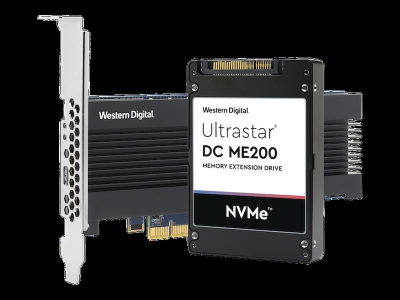 Ultrastar DC ME200: Western Digital erweitert Server-RAM mit NVMe-SSD