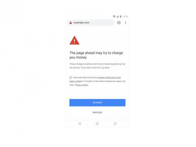 Warnung vor Abo-Fallen (Bild: Google)