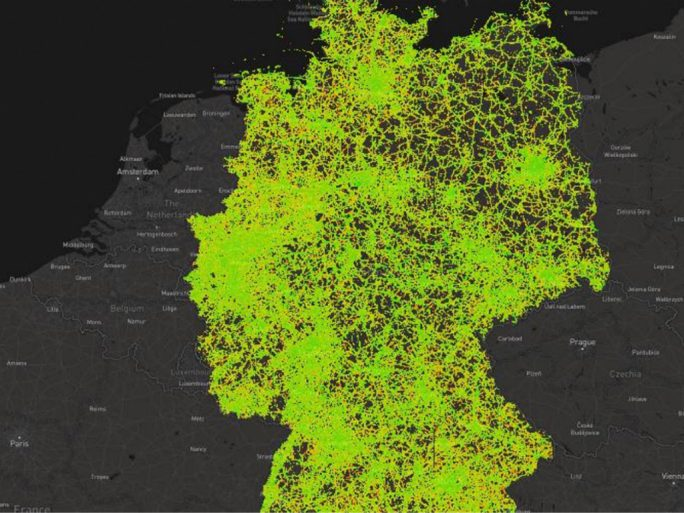 LTE-Abdeckung (Bild: P3 Communications GmbH)