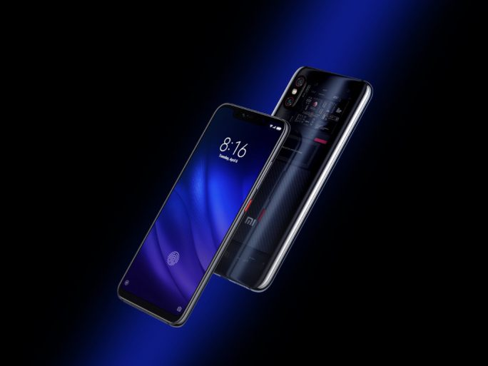 Xiaomi Mi 8 Pro mit transparenter Rückseite (Bild: Xiaomi)