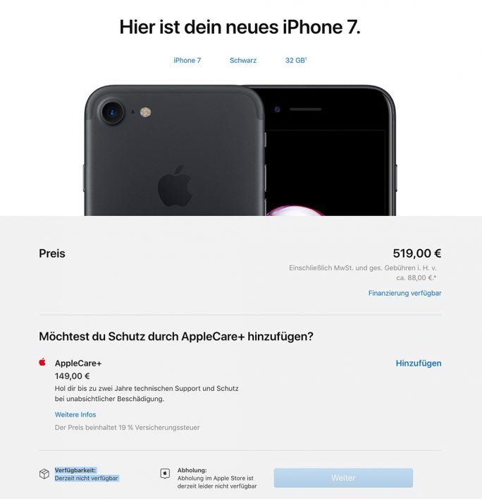 Qualcomm erwirkt iPhone-Verkaufsverbot (Screenshot: ZDNet.de)