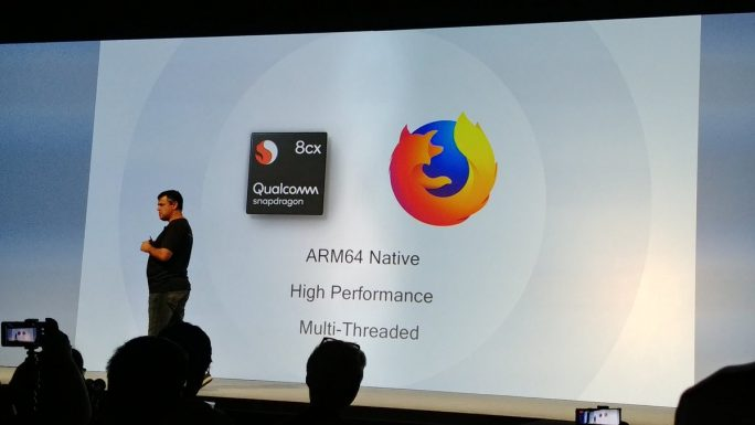 Snapdragon 8cx: Firefox (Bild: Qualcomm)