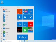 Windows 10 19H1: Build 18305 mit Sandbox und vereinfachtem Startmenü