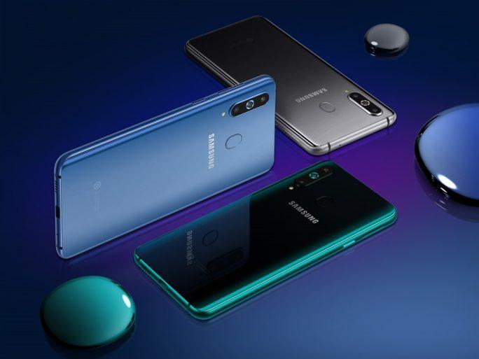 Farben des Galaxy A8s (Bild: Samsung)