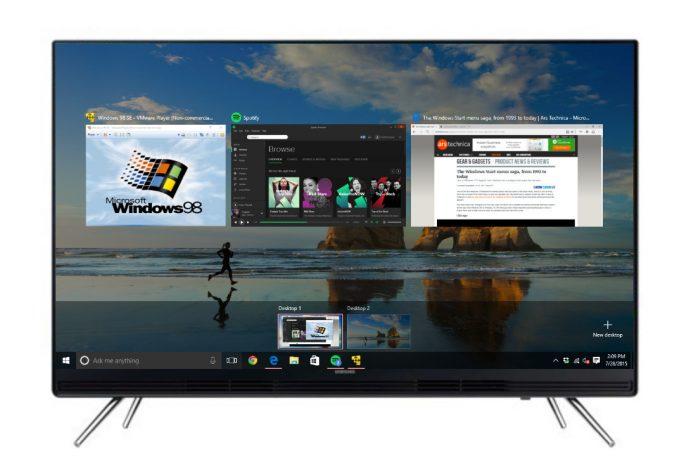 Samsung Smart TV: Remote Access (Bild: Samsung)