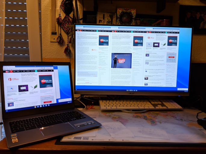 Acer Chromebook 13 CB713-1W (Bild: ZDNet.de)