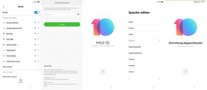 Aktivierung und Einrichtung von MIUI auf Basis von Xiaomi.eu (Screenshot: ZDNet.de)