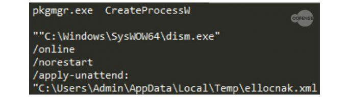 Cofense: Ave_Maria Malware nutzt reguläres Utility (Bild: Cofense)