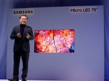 Samsung zeigt Micro-LED-Displays