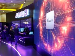 AMD auf der CES 2019 (Bild: AMD)