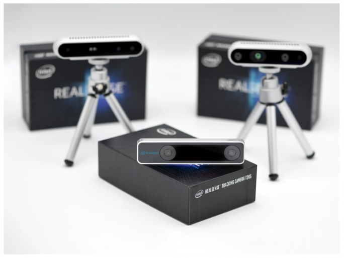 RealSense Tracking Camera T265 (Bild: Intel)