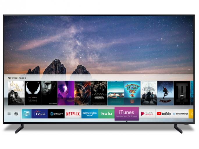 iTunes-App auf Samsung-TV (Bild: Samsung)