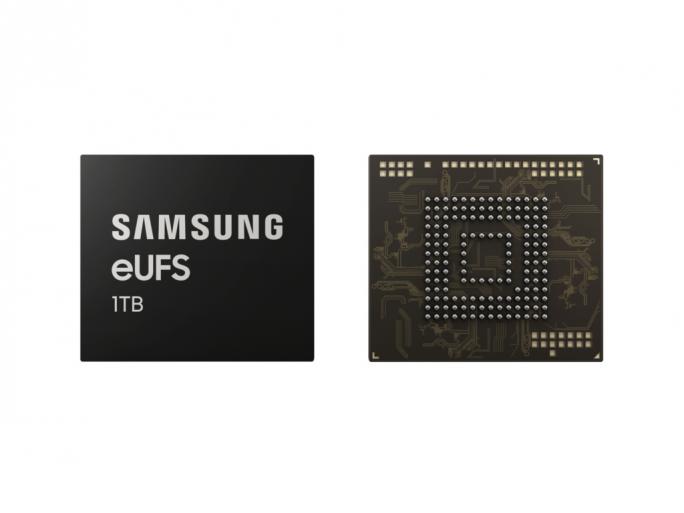 1 TByte eUFS-Speicher für Smartphones (Bild: Samsung)