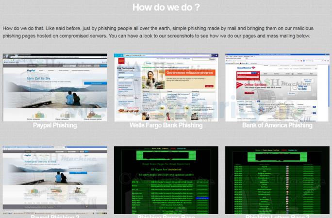 Cyberkriminelle geben eine Schritt-für-Schritt-Anleitung für erfolgreiche Phishing-Kampagnen (Screenshot: Eset).