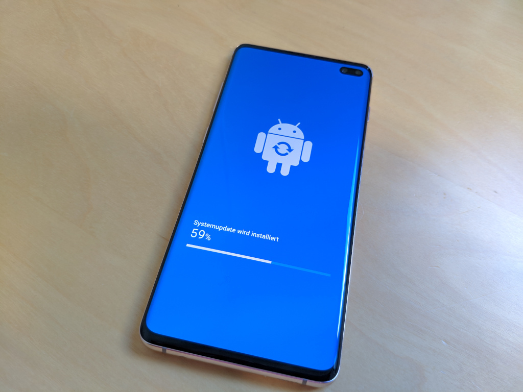 Galaxy S10: Update bringt August-Sicherheitspatches für Android
