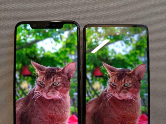 Smartphone: Notch oder keine Notch (Bild: ZDNet.de)