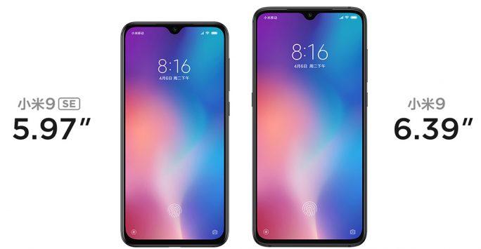Xiaomi Mi 9 und Mi 9 SE (Bild: Xiaomi)