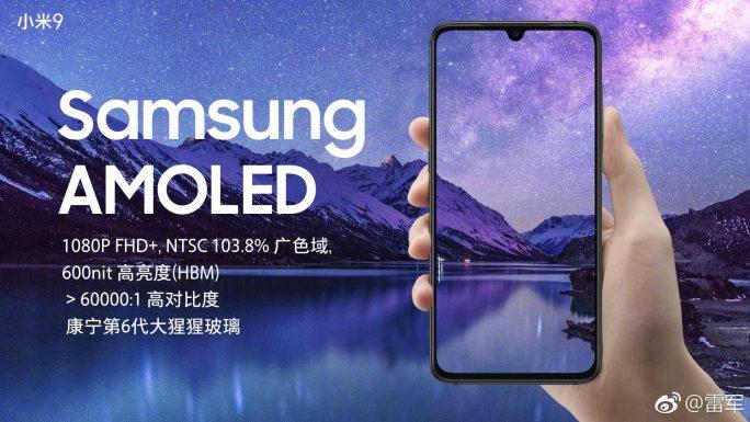 Xiaomi Mi 9 mit Amoled-Display von Samsung (Bild: Xiaomi)