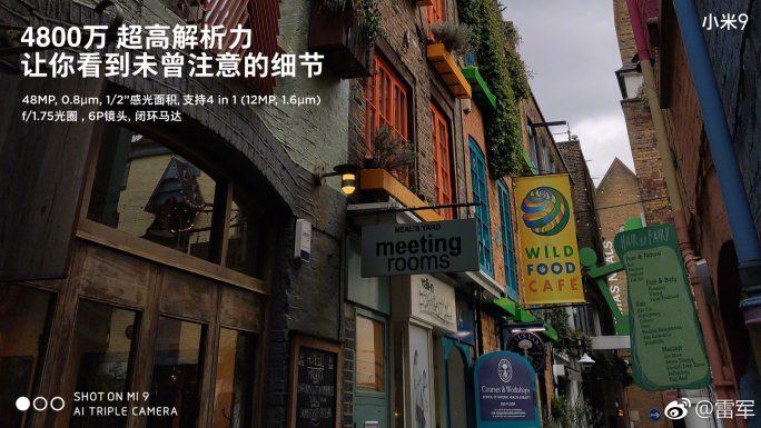 Xiaomi Mi 9: Beispielfoto 1 (Bild: Xiaomi)