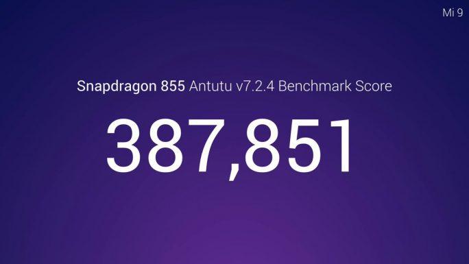 Xiaomi Mi 9: Snapdragon 855 erzielt knapp 390.000 Punkte im Antutu-Benchmark (Bild: Xiaomi)