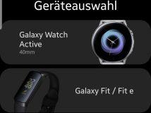 Samsung enthüllt versehentlich neue Wearables