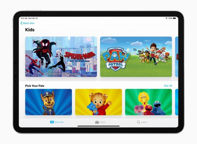 Apple-TV-App auf dem iPad (Bild: Apple)