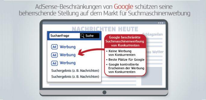 EU: Google hat seine dominierende Marktstellung missbraucht (Bild: EU)
