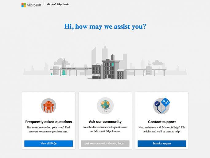 Edge auf Basos von Chromium für Insider (Screenshot: ZDNet.de)
