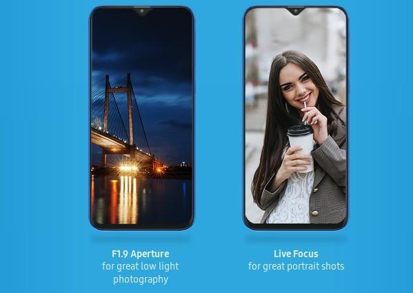Galaxy M20: Kamera (Bild: Samsung)