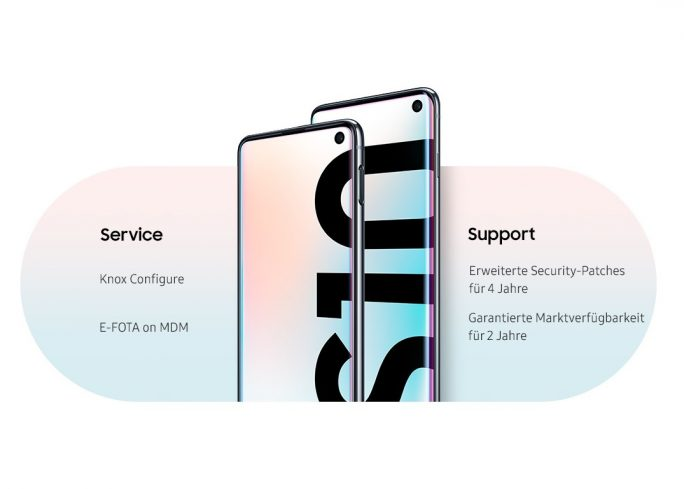 Galaxy S10 Enterprise Edition (Bild: Samsung)
