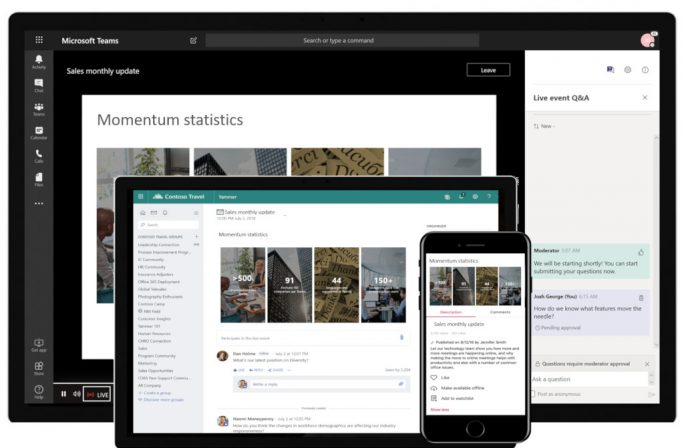 Microsoft Teams: Live Events (Bild: Microsoft)