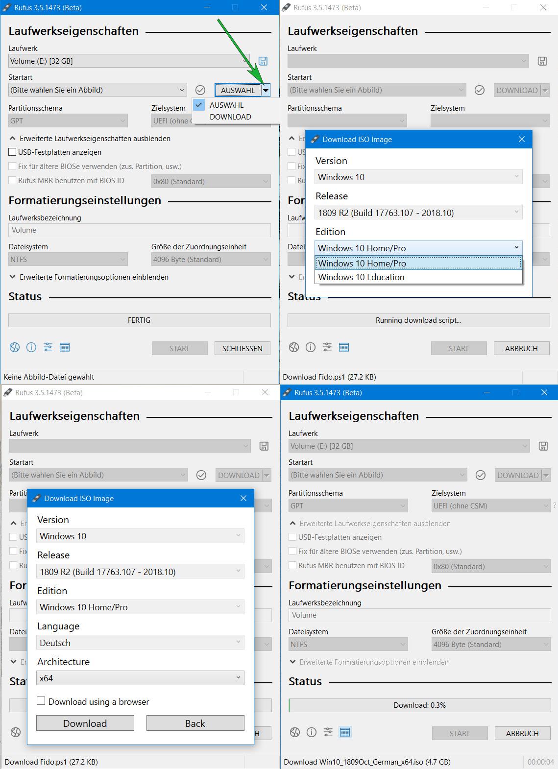 Rufus 3 5 integriert ISO-Download-Funktion | ZDNet de