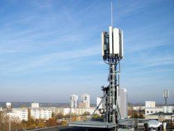 Telefónica-Antenne in Halle-Neustadt (Bild: Telefónica)