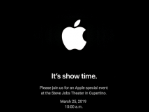 It's Show Time: Apple kündigt Event für 25. März an