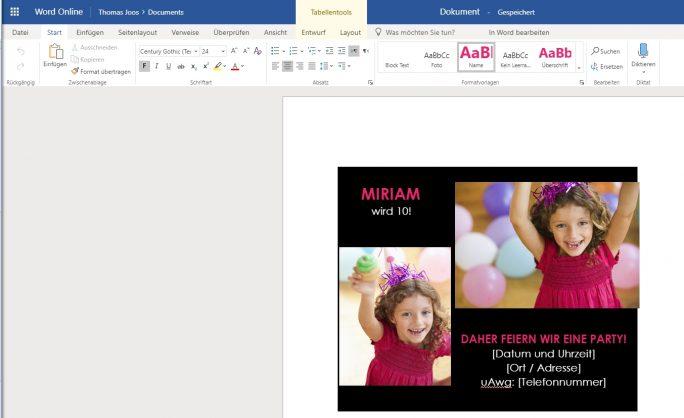 Microsoft Office Online Server stellt im Rechenzentrum Online-Versionen von Microsoft Office-Programmen zur Verfügung (Screenshot: Thomas Joos).