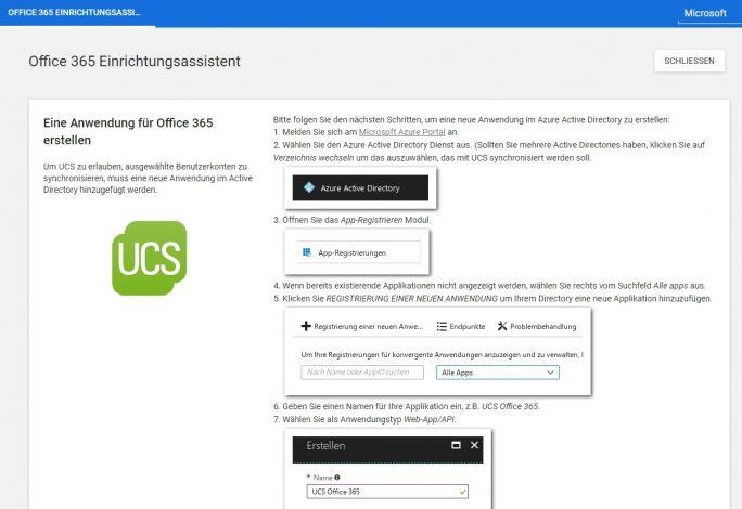 Mit dem Office 365 Connector kann UCS mit Office 365 verbunden werden. Davon profitiert auch die ownCloud-Installation auf dem UCS-Server (Screenshot: Thomas Joos).