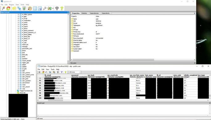 UpGuard entdeckt Datenleck bei Facebook (Screenshot: UpGuard)