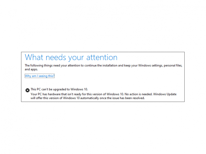 Fehlermeldung (Bild: Microsoft)