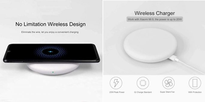 Xiaomi: 20 Watt Wireless Charger (Bild: Xiaomi)