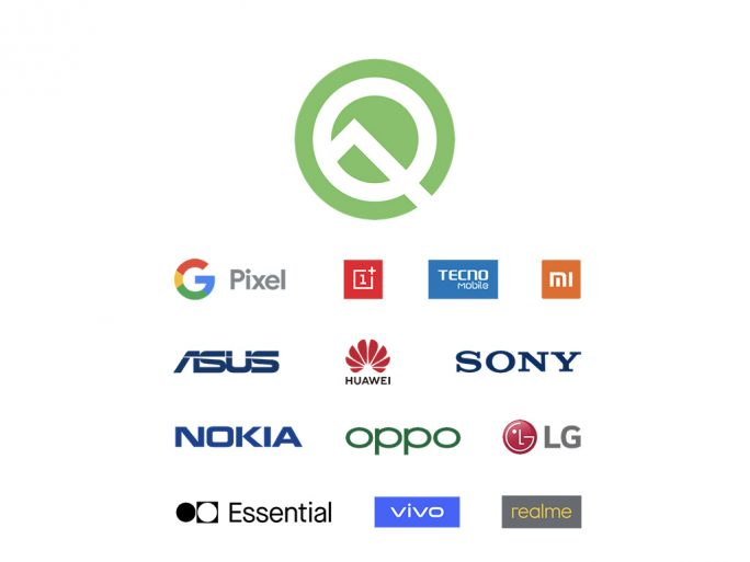 Android Q Beta 3: Partner (Bild: Google)