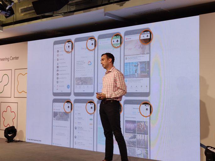 Die Münchner Google-Entwickler implementieren Datenschutzeinstellungen in Apps wie Maps, Assistant und Youtube (Bild: ZDNet.de).