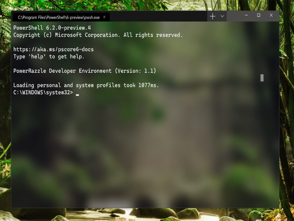 Windows-Terminal steht als Vorschau zur Verfügung