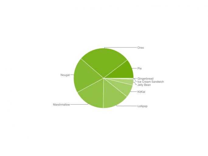Android-Verteilung (Bild: Google)