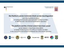 Darknet-Plattform Wall Street Market: BKA verhaftet mutmaßliche Betreiber