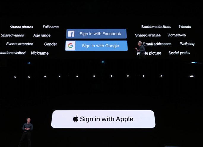 Apple iOS 13: Apple-ID-Anmeldung (Sxcreenshot: ZDNet.de)